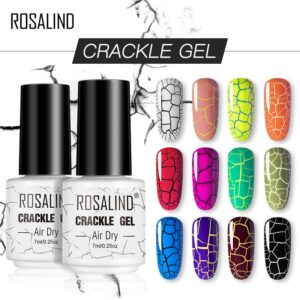 Crackle Effect Nail Polish