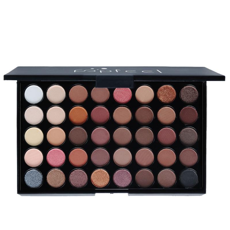 POPFEEL Cosmetics 40 Color Eyeshadow Palette