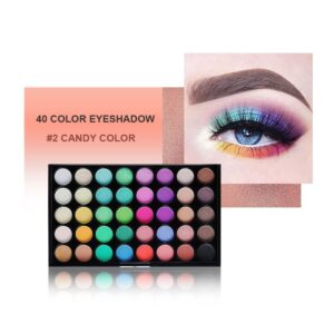 POPFEEL Cosmetics 40 Color Eyeshadow Palette