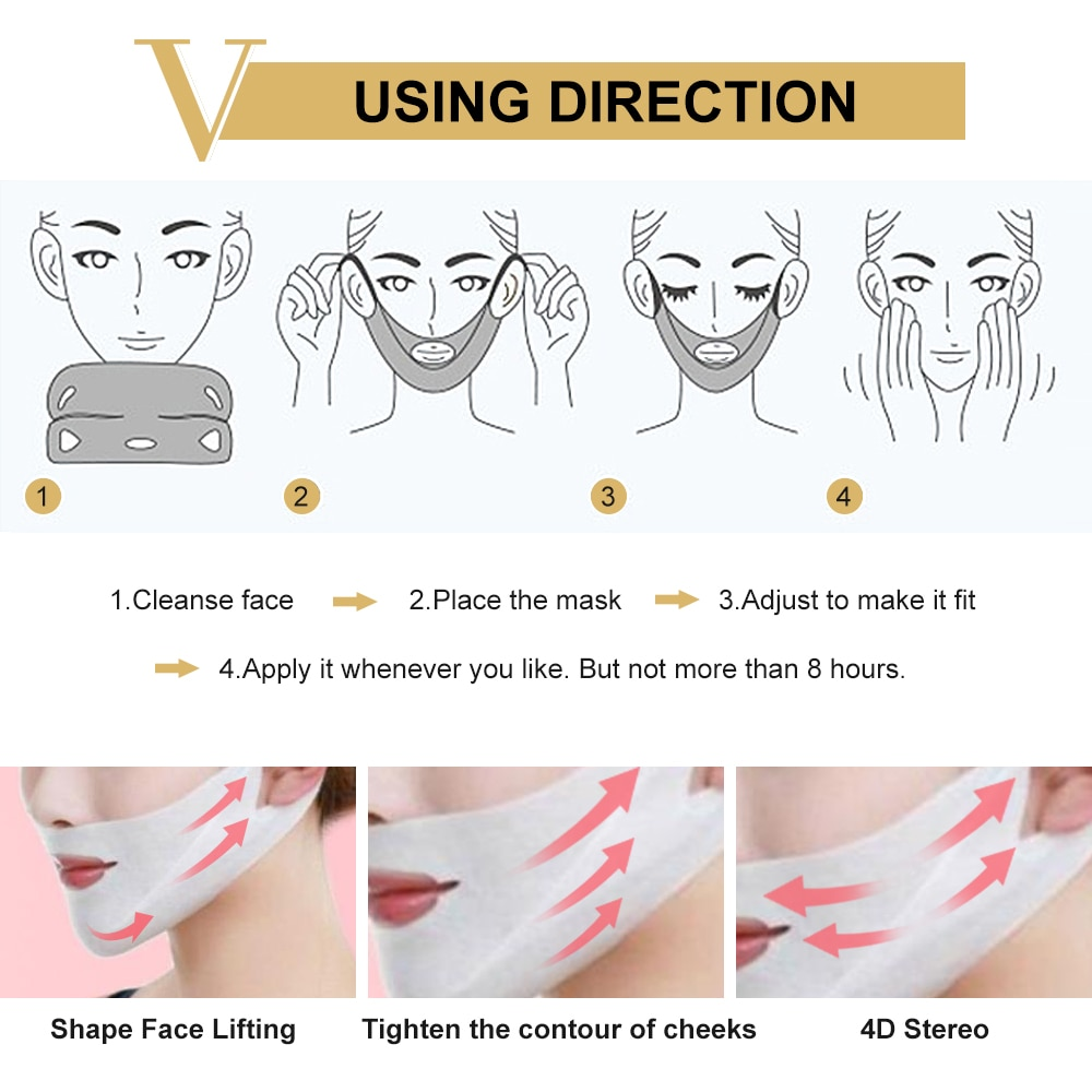 Natural V-Shaped Slimming Mask