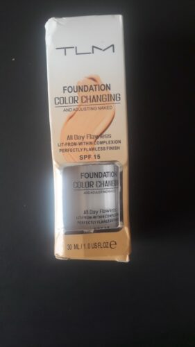 Color Changing Foundation photo review
