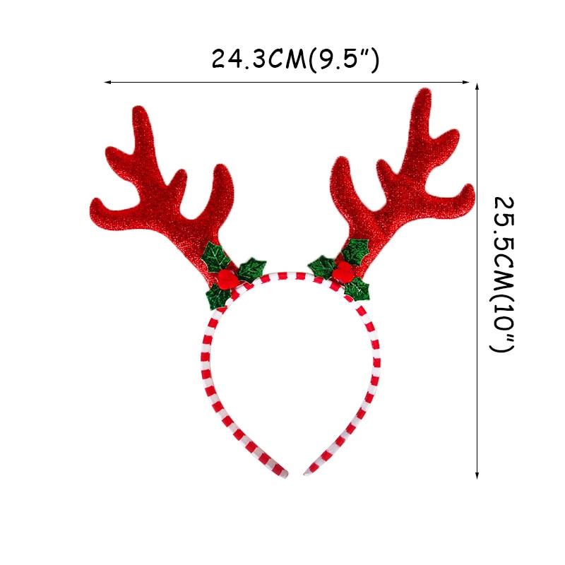 Christmas Antlers Headband