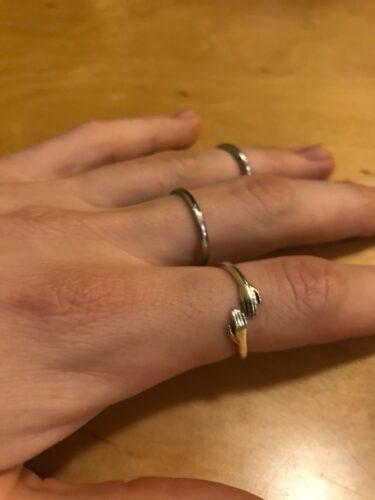 Creative Love Hug Ring photo review